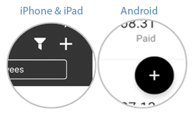 Screenshot of new payment icon.